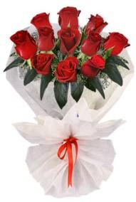 11 adet gül buketi  Ağrı internetten çiçek siparişi  kirmizi gül