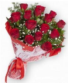 11 kırmızı gülden buket  Ağrı güvenli kaliteli hızlı çiçek