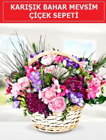 Karışık mevsim bahar çiçekleri  Ağrı ucuz çiçek gönder