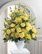 Ağrı çiçek siparişi sitesi  sari güllerden sebboy tanzim çiçek siparisi