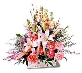 Ağrı çiçek siparişi sitesi  mevsim çiçekleri sepeti özel tanzim