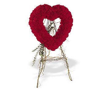 Ağrı internetten çiçek satışı  karanfillerden kalp pano