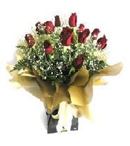 Ağrı internetten çiçek siparişi  11 adet kirmizi gül  buketi