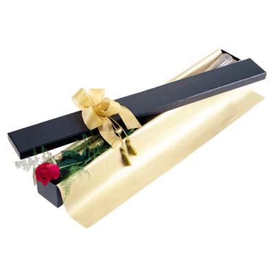 Ağrı uluslararası çiçek gönderme  tek kutu gül özel kutu