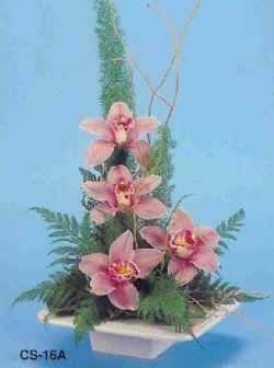 Ağrı çiçekçi telefonları  vazoda 4 adet orkide