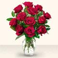 Ağrı çiçek yolla  10 adet gül cam yada mika vazo da