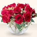 Ağrı çiçek online çiçek siparişi  mika yada cam içerisinde 10 gül - sevenler için ideal seçim -