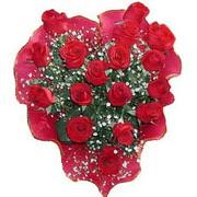 herseyi ile kirmizi buket   Ağrı çiçek online çiçek siparişi