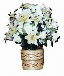 yapay karisik çiçek sepeti   Ağrı çiçek mağazası , çiçekçi adresleri