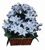 yapay karisik çiçek sepeti   Ağrı online çiçek gönderme sipariş