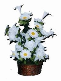 yapay karisik çiçek sepeti  Ağrı çiçek siparişi vermek