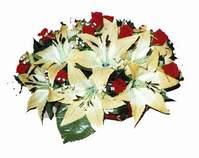 yapay karisik çiçek sepeti   Ağrı internetten çiçek siparişi