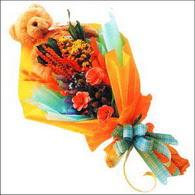 ayicik gül ve kir çiçekleri   Ağrı çiçekçi mağazası