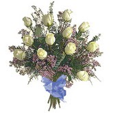 bir düzine beyaz gül buketi   Ağrı çiçek gönderme sitemiz güvenlidir