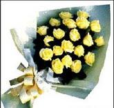 sari güllerden sade buket  Ağrı çiçek , çiçekçi , çiçekçilik