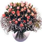 büyük cam fanusta güller   Ağrı çiçek yolla