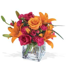 Ağrı çiçek mağazası , çiçekçi adresleri  cam içerisinde kir çiçekleri demeti