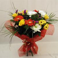 Ağrı hediye çiçek yolla  Karisik mevsim demeti