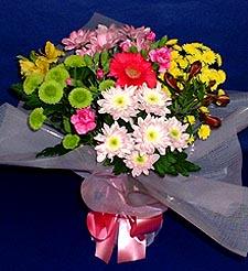 Ağrı hediye çiçek yolla  küçük karisik mevsim demeti