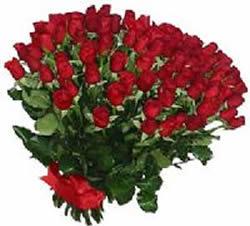 51 adet kirmizi gül buketi  Ağrı çiçekçiler