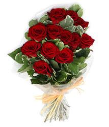 Ağrı çiçek yolla , çiçek gönder , çiçekçi   9 lu kirmizi gül buketi.