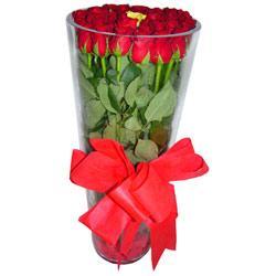 Ağrı çiçek online çiçek siparişi  12 adet kirmizi gül cam yada mika vazo tanzim