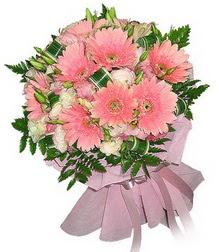 Ağrı cicekciler , cicek siparisi  Karisik mevsim çiçeklerinden demet