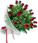 Ağrı internetten çiçek satışı  11 adet kirmizi gül buketi sade ve hos sevenler