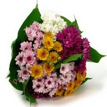 Ağrı çiçekçi telefonları  Karisik kir çiçekleri demeti herkeze