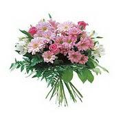 karisik kir çiçek demeti  Ağrı çiçek satışı