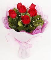 9 adet kaliteli görsel kirmizi gül  Ağrı çiçek gönderme