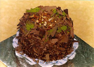 Çikolatali 4 ila 6 kisilik yas pasta  Ağrı çiçek gönderme sitemiz güvenlidir
