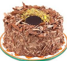 çikolatali 4 ile 6 kisilik yas pasta  Ağrı çiçek servisi , çiçekçi adresleri