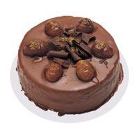 Kestaneli çikolatali yas pasta  Ağrı çiçek , çiçekçi , çiçekçilik