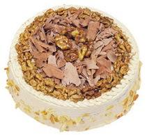 Karamelli 4 ile 6 kisilik yas pasta  Ağrı çiçek yolla