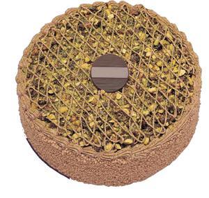 Krokanli 4 ile 6 kisilik yas pasta leziz  Ağrı çiçek gönderme