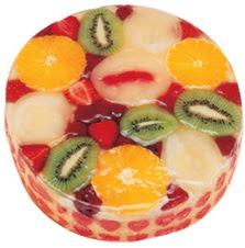 Meyvali 4 ile 6 kisilik yas pasta leziz  Ağrı hediye çiçek yolla
