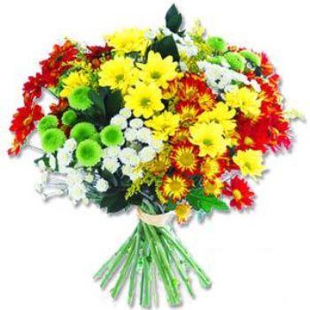 Kir çiçeklerinden buket modeli  Ağrı online çiçek gönderme sipariş