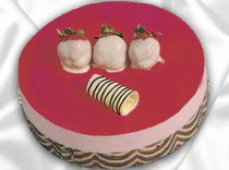 pasta siparisi 4 ile 6 kisilik yas pasta çilekli yaspasta  Ağrı çiçek servisi , çiçekçi adresleri