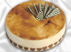 taze pasta 4 ile 6 kisilik yas pasta karamelli yaspasta  Ağrı çiçekçiler