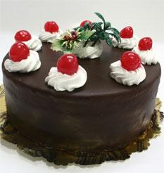 4 ile 6 kisilik yas pasta çikolatali taze pastaci  Ağrı anneler günü çiçek yolla