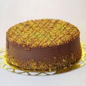 sanatsal pastaci 4 ile 6 kisilik krokan çikolatali yas pasta  Ağrı cicek , cicekci