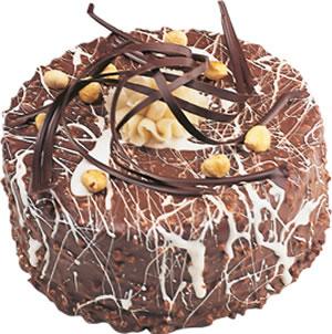 pasta satisi 4 ile 6 kisilik çikolatali yas pasta  Ağrı İnternetten çiçek siparişi