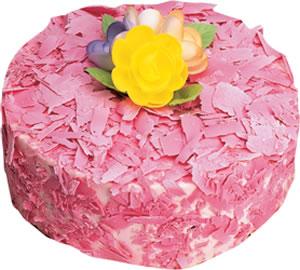 pasta siparisi 4 ile 6 kisilik framboazli yas pasta  Ağrı çiçek yolla
