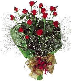 11 adet kirmizi gül buketi özel hediyelik  Ağrı çiçekçi mağazası