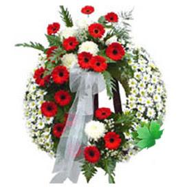 Cenaze çelengi cenaze çiçek modeli  Ağrı uluslararası çiçek gönderme