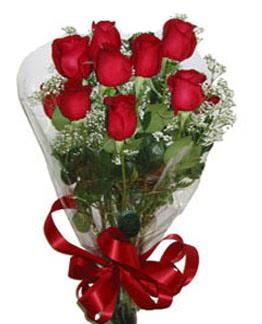 Çiçek sade gül buketi 7 güllü buket  Ağrı online çiçek gönderme sipariş