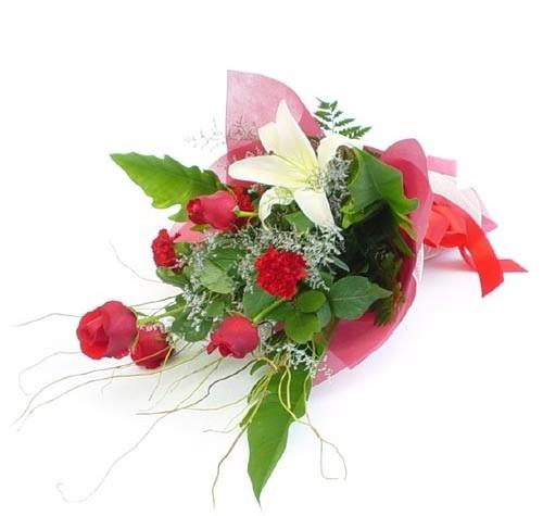 Mevsim çiçeklerinden karisik buket  Ağrı cicek , cicekci