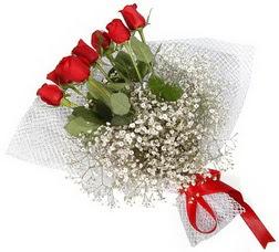 7 adet kirmizimi kirmizi gül buketi  Ağrı hediye sevgilime hediye çiçek