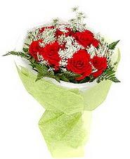 Ağrı çiçek , çiçekçi , çiçekçilik  7 adet kirmizi gül buketi tanzimi